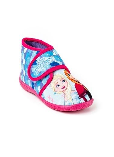 Disney Disney Kız Cocuk Frozen Lisanslı Panduf Renkli